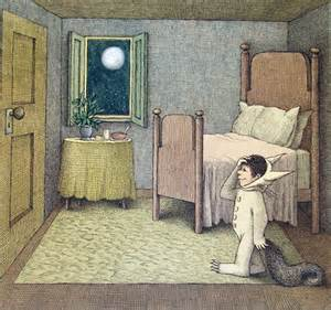 where the things are bedroom opening wednesday too many thoughts to chew a sendak stew a new exhibition at the rosenbach