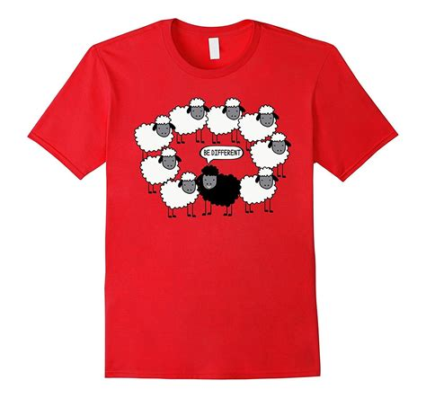 T Shirt Be Different cool be different tshirt black sheep family t shirt