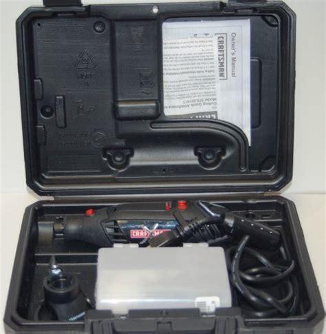 craftsman sears variable speed rotary tool kit w40