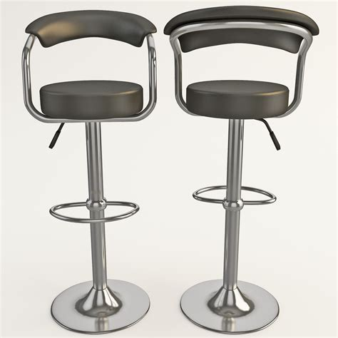 modern bar stools modern contemporary bar stools 3d 3ds