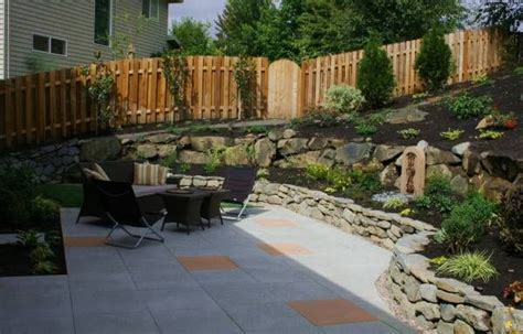 sloped backyard before and after 17 best images about designing slopes on pinterest