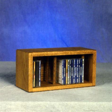 Small Dvd Shelf by Solid Oak Desktop Or Shelf Cd Cabinet