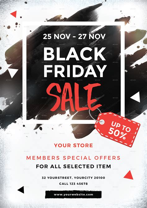 black friday sale black friday sale flyer by infinite78910 graphicriver