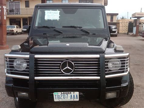 used mercedes g wagon a sharp naija used 2003 mercedes benz g500 g wagon for