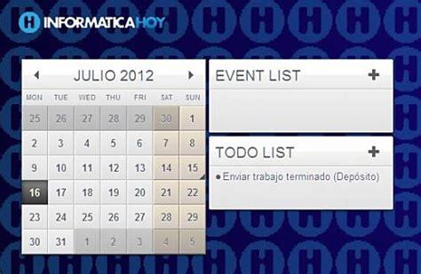Calendario Windows Calendarios Personalizables Para El Escritorio De Windows