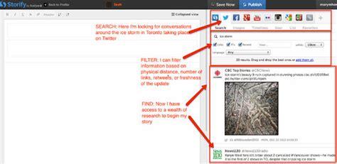 storify make the web tell a story storify make the web tell a story how to fuel your curated