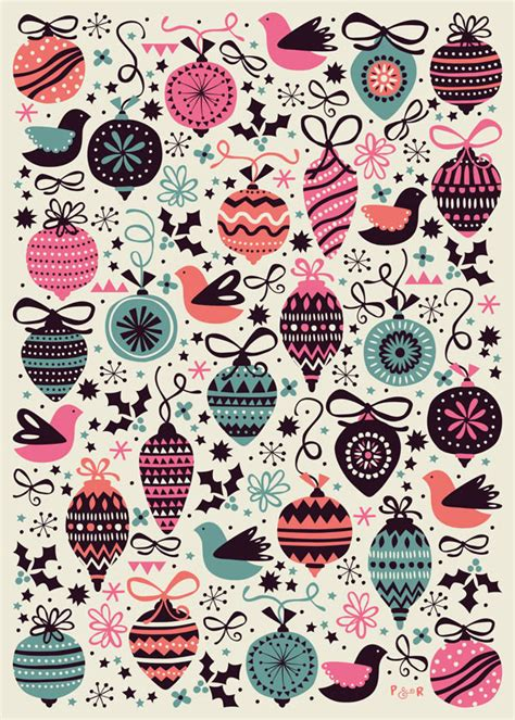 christmas pattern we heart it wrapping paper collection on behance