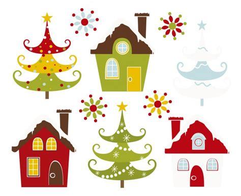 imagenes vectoriales de navidad gratis casas y 225 rboles de navidad nevados descargar vectores gratis