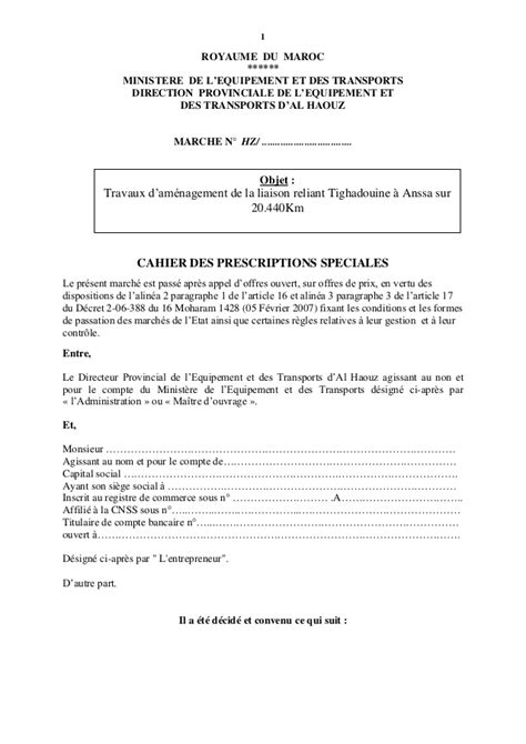 Mod Les De Lettre Pour Un Proc S Verbal pv reception travaux pv de reception de travaux la r