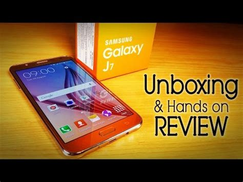 samsung galaxy  unboxing hands  review  mid range youtube