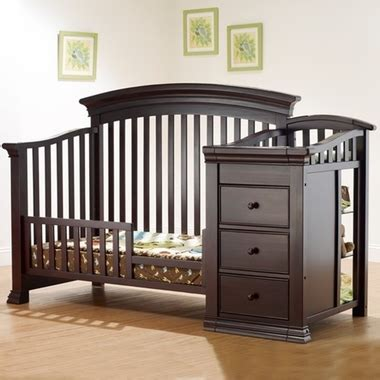 sorelle verona crib with changing table crib and changer home ideas