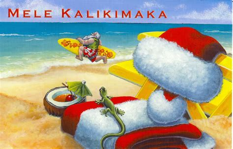 christmas hawaiian santa clipart clipart suggest