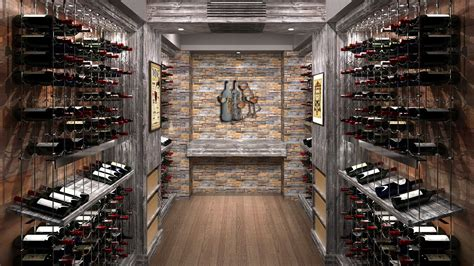 Liquor Store Floor Plans by Wine Cellar Specialists Cable Wine Systems