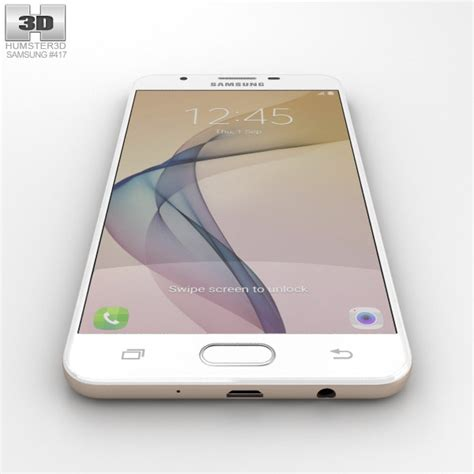 Samsung J7 Prime Gold Fullset samsung galaxy j7 prime gold 3d model hum3d