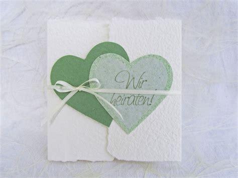 Hochzeitseinladung Transparentpapier by Handgesch 246 Pfte Hochzeitseinladung Quot Herzen Quot