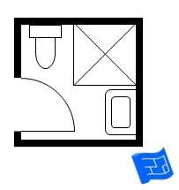 Small Square Bathroom Layout Small Bathroom Layout Plans 6x6 7 Small Bathroom Layouts