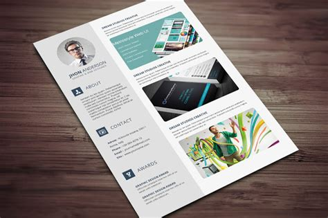 portfolio template word creative resume cv template with cover letter and