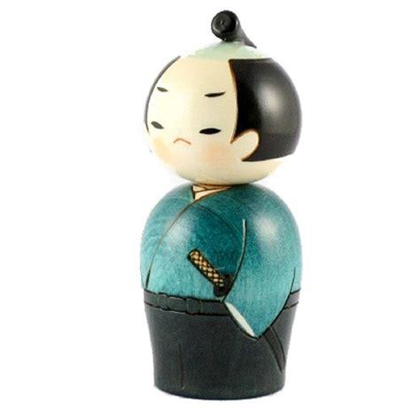 Samurai X 5 kokeshi doll samurai 13 5 x 5 5 cm ornaments