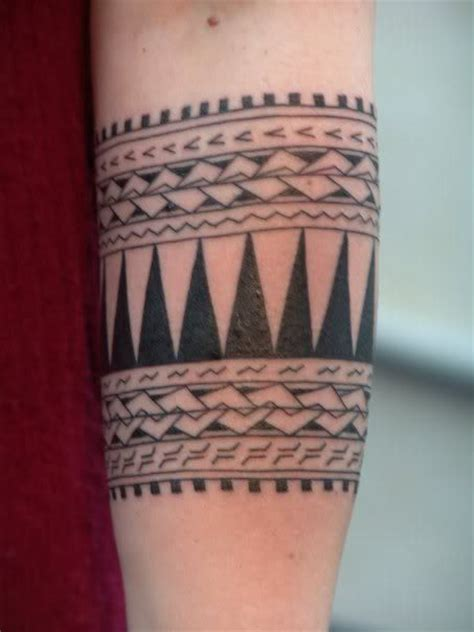 aztec tribal armband tattoos arm band for the of ink births