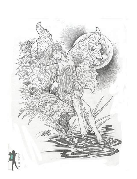 coloring pages of mermaids and fairies coloring pages for adults only fairy mermaid blog