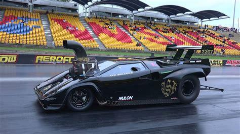 Drag Race Lamborghini Supercharged V8 Lamborghini Drag Racing Supercar Is The