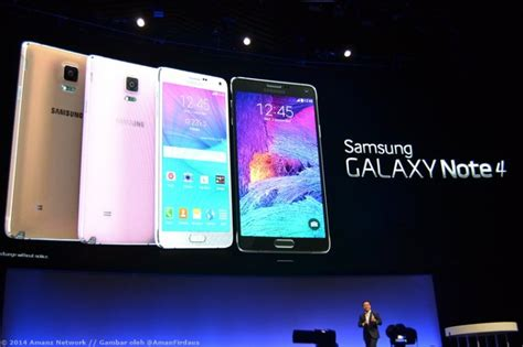 Samsung Di Malaysia Terkini samsung menjadualkan pelancaran galaxy note 4 di malaysia pada 15 oktober amanz