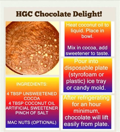 Is Chocolate Allowed On The Ifm Detox Die by Chocolate Delight Recipe Hcg