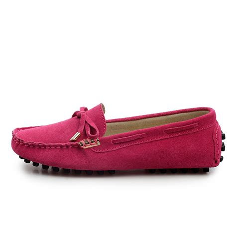 womens designer loafers 2015 genuine leather designer loafers flat shoes