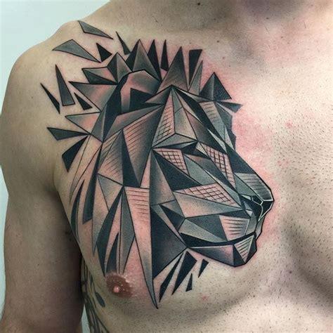 geometric tattoo artist kent featured tattoo artist david mushaney geometric lion