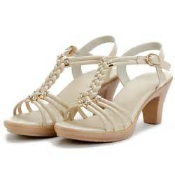 womens summer shoes summer brand shoes genuine leather high heels
