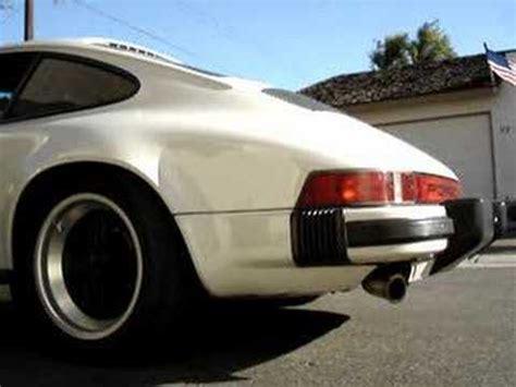J Leno Singer Porsche by 1986 Porsche 3 2 B B Exhaust Maxspeed Cat Bypass
