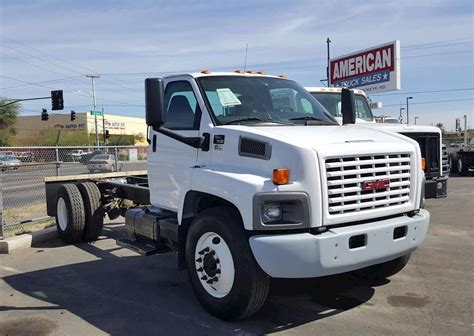 gmc semi truck 2008 gmc 7500 heavy duty cab chassis truck for sale