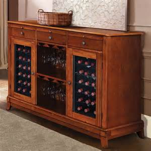 Credenza With Glass Doors Wine Cellar Credenza The Green Head