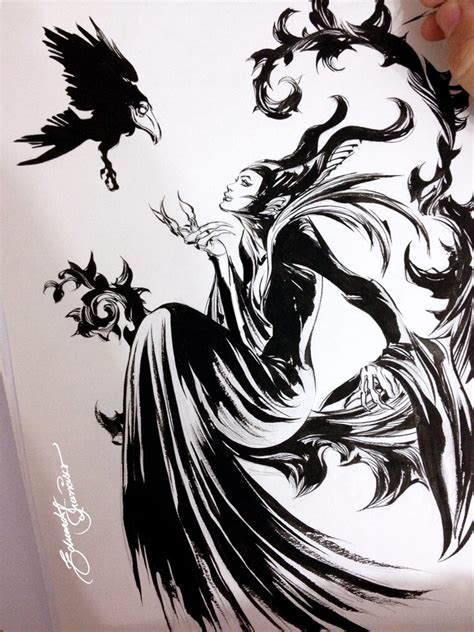 maleficent by edufrancisco on deviantart