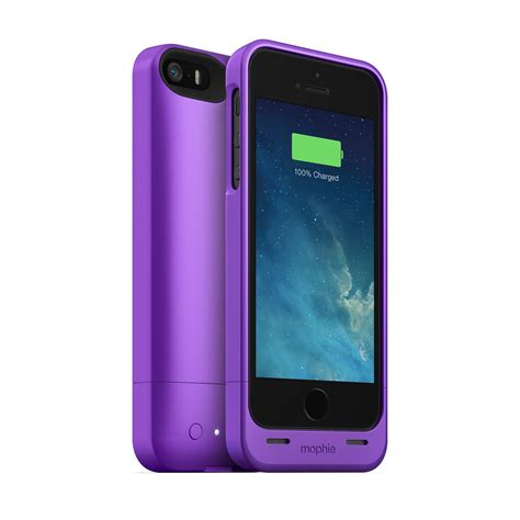 Iphone Iphone 5 5s In Purple Cat Cover mophie juice pack helium apple iphone 5 5s purple 1500mah
