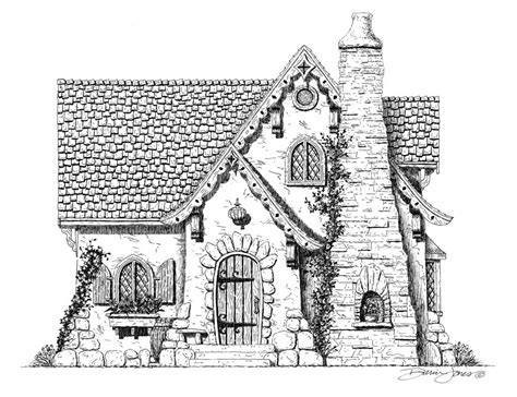 storybook cottage house plans bookish ambition february 2013