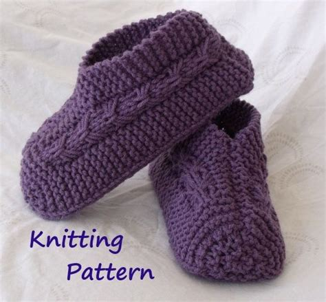 easy knitted slippers free pattern easy to knit bow slippers tutorial knitting pattern for