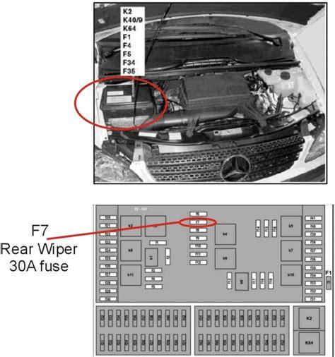 mercedes ml350 fuse box diagram wiring diagram manual