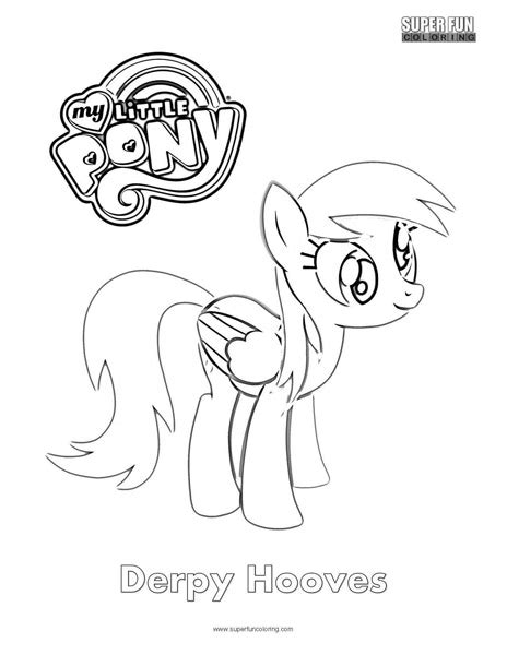 my little pony derpy coloring pages derpy hooves my little pony coloring page super fun