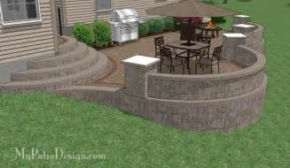 building a patio on a sloped yard building a fence on a sloped yard woodworking projects