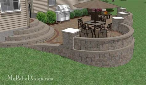 patio designs for sloped yards sloped backyard ideas if you are one of the many