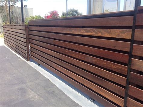 horizontal wood fence horizontal wood fence