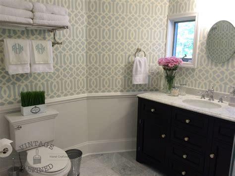 vintage refined guest bathroom makeover