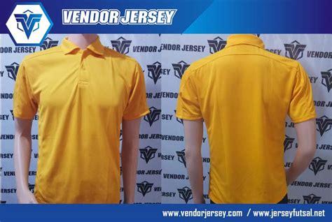 Kaos Bola Bahan Fit pembuatan kaos jersey olahraga polos berkerah vendor jersey