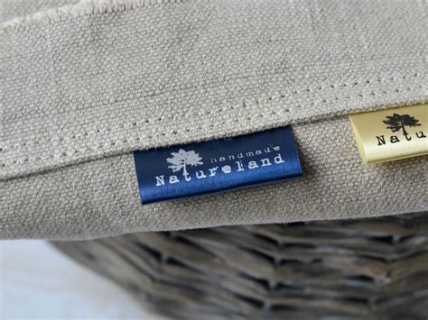 Custom Labels For Handmade Items - fabric labels for handmade items handmade