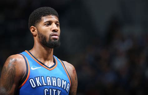 Paul George 1 Blackbuster paul george shares a legendary trash talking story says the refs to do a better