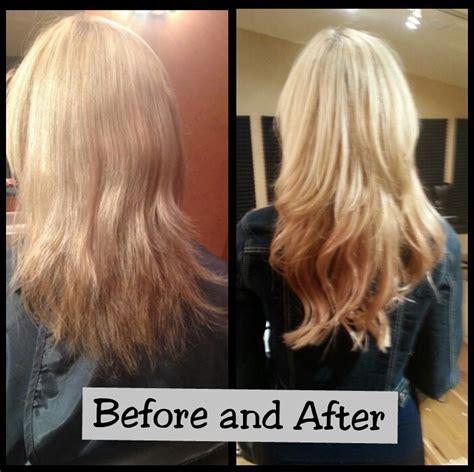 hair hair extensions before and after before and after in hair extensions hair extension