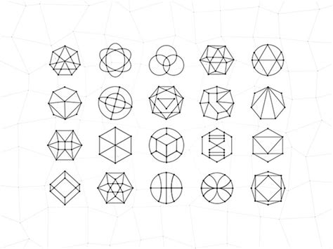 design inspiration shapes 30 mind blowing exles of geometric designs web