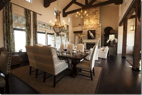 dream homes by scott living open concept living dining space southern living showcase