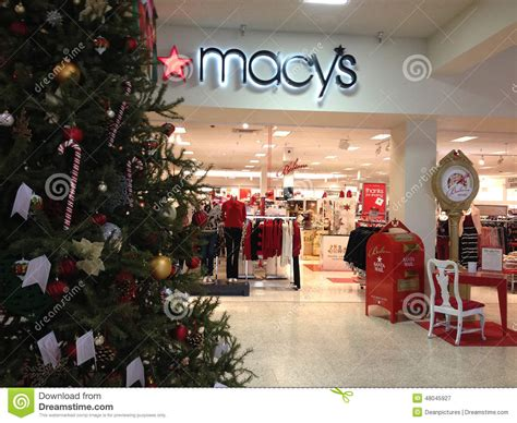 macy s christmas sale editorial photography image 48045927